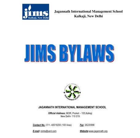 JIms BY Laws